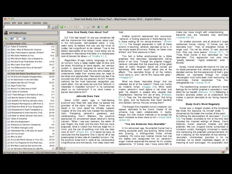 Watchtower library - Supported software - PlayOnMac - Run