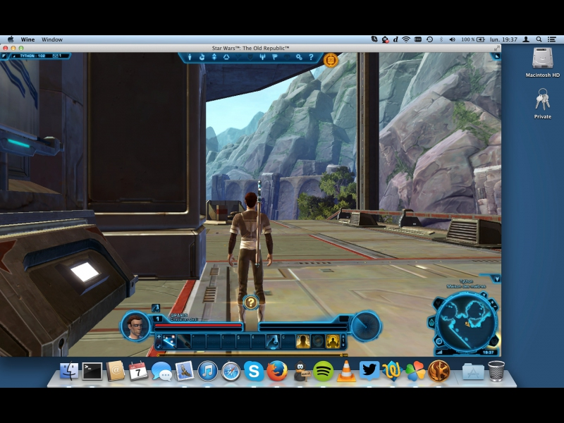 Star Wars: The Old Republic - Supported software - PlayOnMac - Run