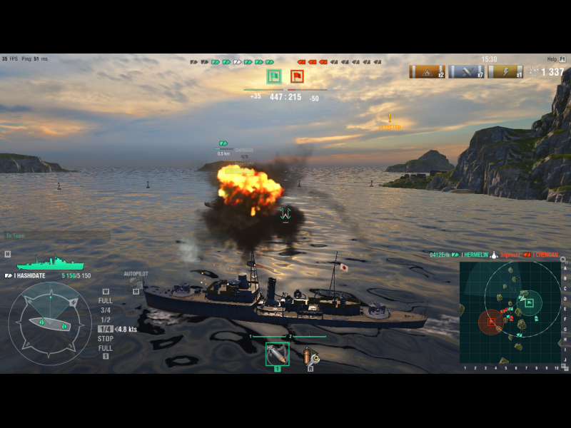 World Of Warships - Supported software - PlayOnMac - Run